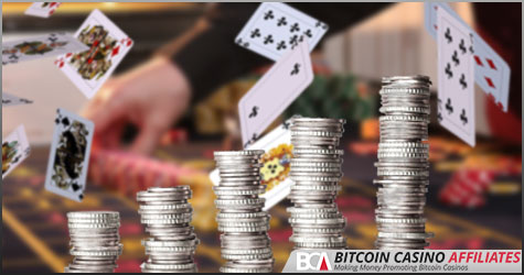Bitcoin poker agenter