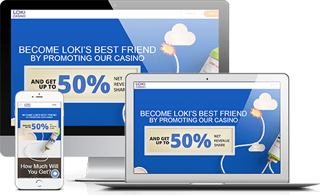 Join Loki Casino Affiliate Program