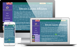 BitcoinCasino Screenshot