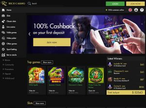 Partnerský program Rich Casino