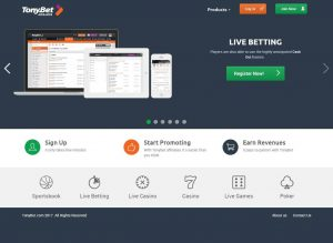 Tonybet Affiliate Program