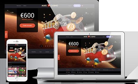 Join Mars Casino Affiliate Program