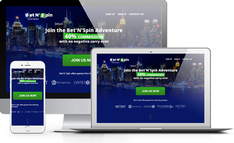Join Bet N' Spin Affiliate Program