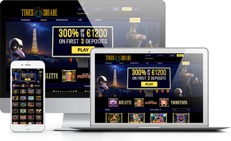 Join Times Square Casino Affiliate Program