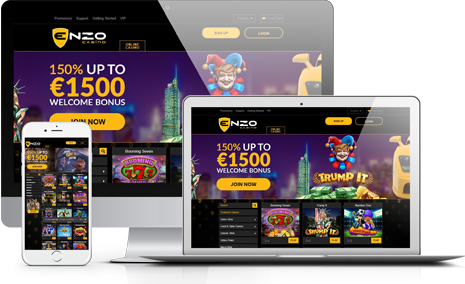 Rejoignez le programme d'affiliation Enzo Casino