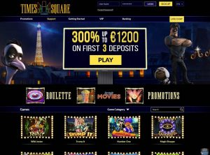 Programme d'affiliation au casino Times Square