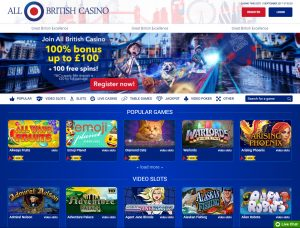 Alla British Casino Affiliate Program