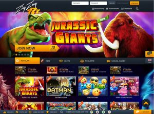Programme d'affiliation ZigZag777 Casino