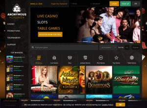 Anonymous Casino Affiliate Program