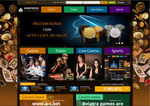 Anonym Casino Affiliate Program