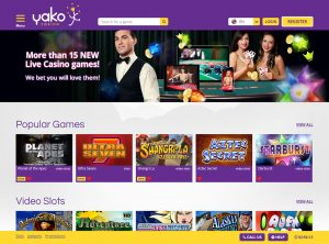 Partnerski program Yako Casino