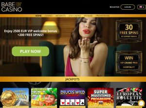 Babe Casino Affiliate Program