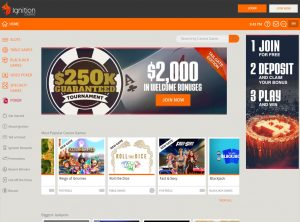 Program Affiliate programu Ignition Casino