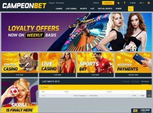 Affiliate program Campeonbet