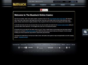 Affiliate program Buzzluck Casino