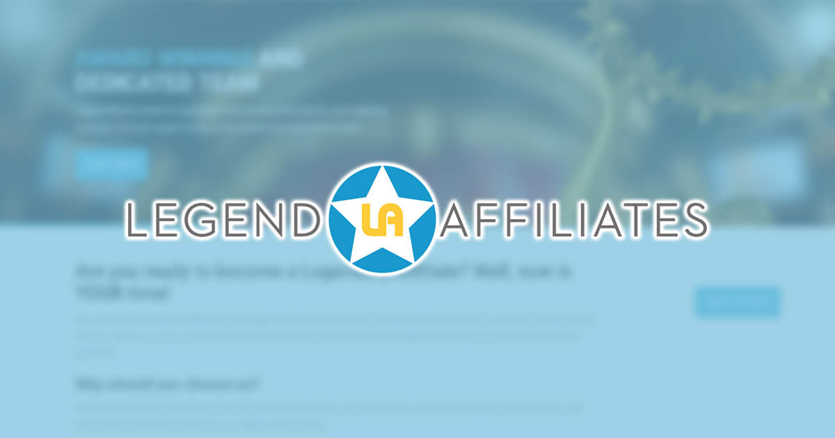 Legend Affiliates Review
