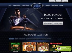Affiliate program Lincoln Casino