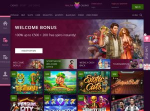 Affiliate program pre Malina Casino