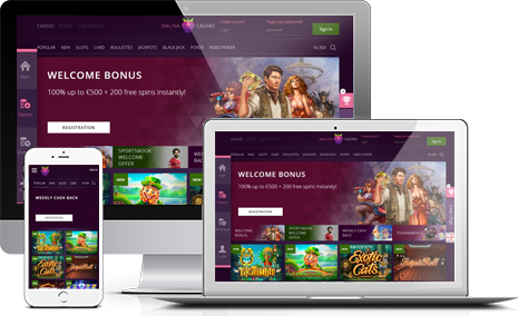 Join Malina Casino Affiliate Program