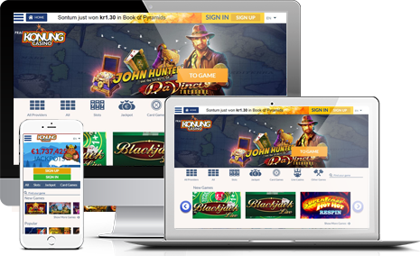 Join Konung Casino Affiliate Program