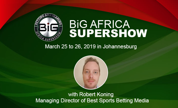 BiG Africa SuperShow 2018 Speaker Interview with Robert Koning