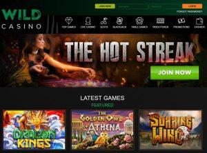 Wild Casino Affiliate Program