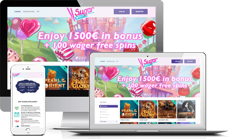 Join Sugar Casino Affiliate Program