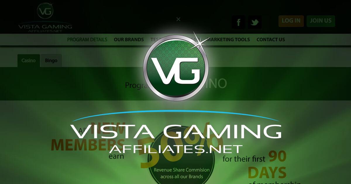Afiliados de VistaGaming