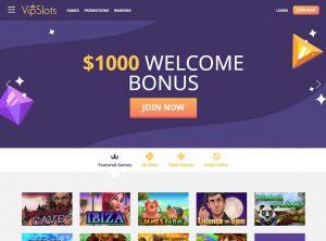 VipSlots Homepage