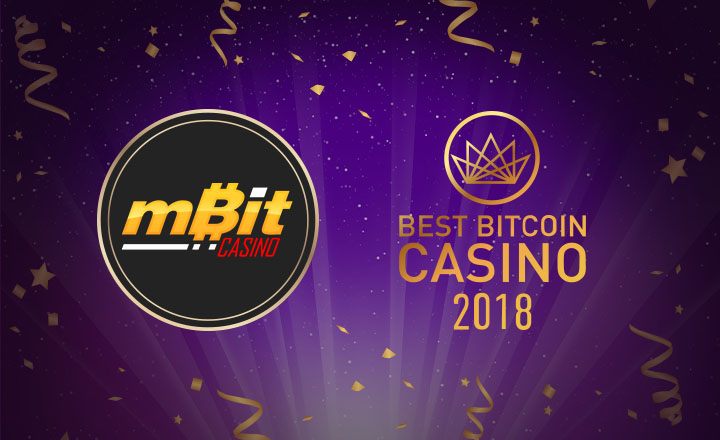 BestBitcoinCasino.com Names mBit Casino the Best Bitcoin Casino of 2018