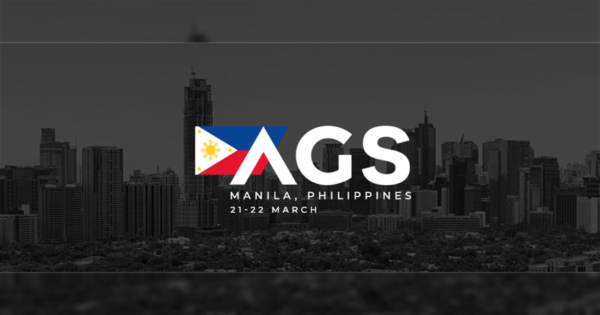 Affiliates and Operators to Reap Rewards at the AGS Manila – March 21st to 22nd