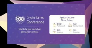 Crypto Games Conference 2019