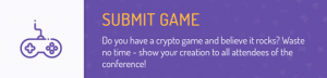 Crypto Games Conference Submit Game