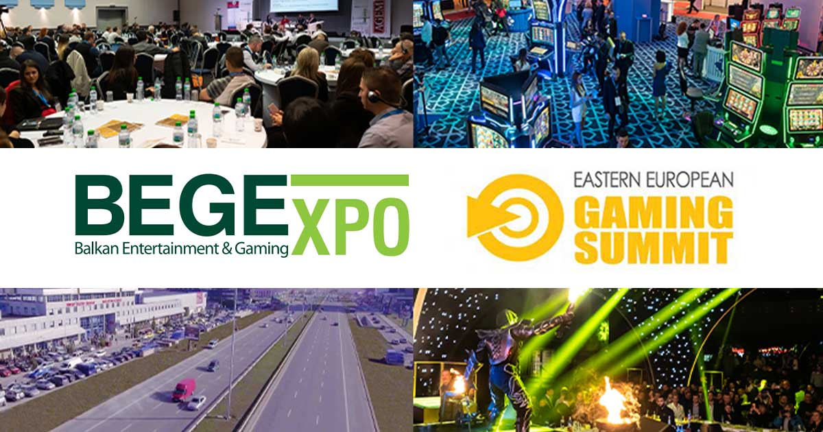 BEGE & EEGS SPEARHEADING EUROPEAN GAMING EVENTS