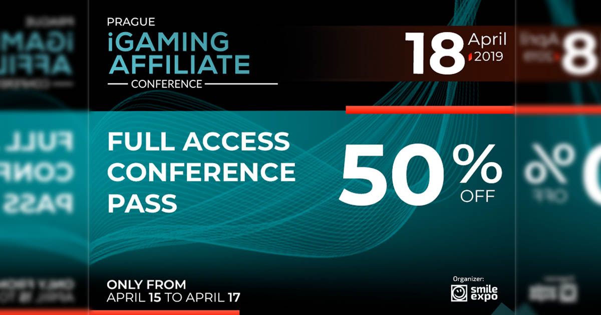 Prague iGaming Affiliate Conference ticket discount