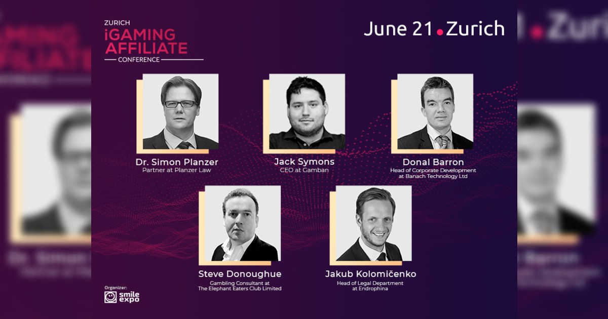 Top Experts to Discuss Legal Side of Gambling at the 1st Zurich iGaming Affiliate Conference