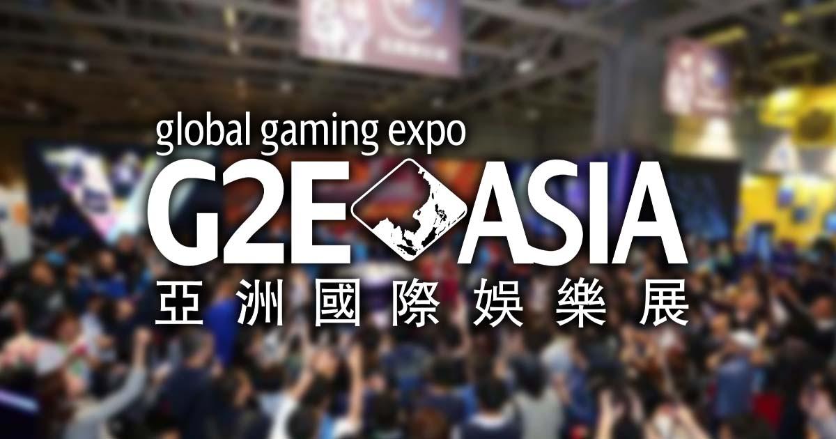 G2E Asia 2019 Program