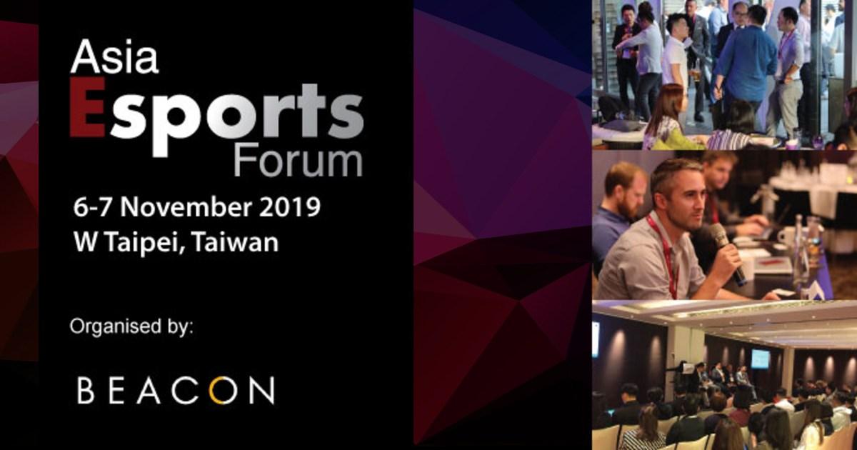 Asia Esports Forum 2019