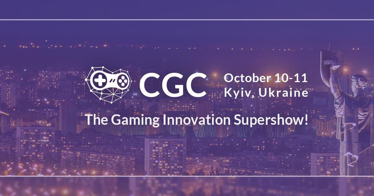 Crypto Games Conference Kyiv 2019