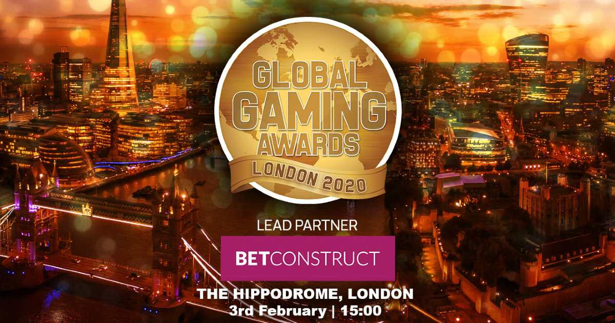 Nominees for the Global Gaming Awards London 2020